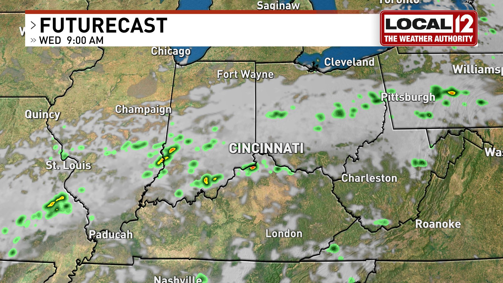 Cincinnati Maps News Weather Sports Breaking News Wkrc