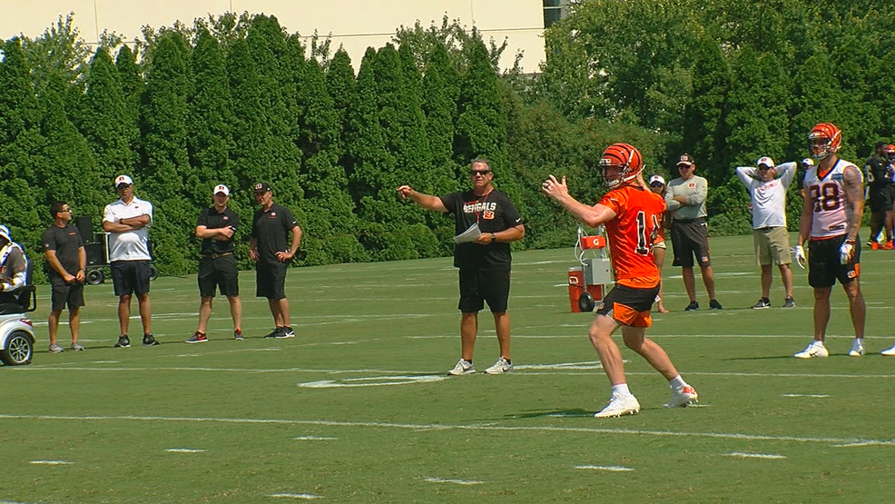 buy popular d7e7c bdd34 Bengals day at camp 7-28: Young receivers step up; Ross ...