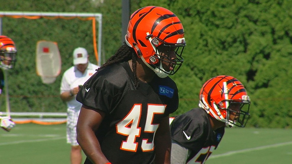 finest selection 0a59f 459ee Bengals cuts include 2018 third-round pick and team places ...