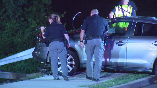 Police chase ends at Crestview Hills Town Center | WKRC