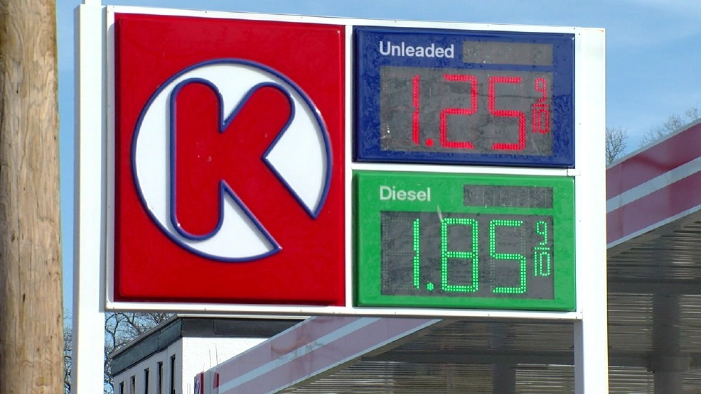 Circle K Gas Prices >> How Low Will They Go Ohio Gas Prices Continue To Drop Wkrc