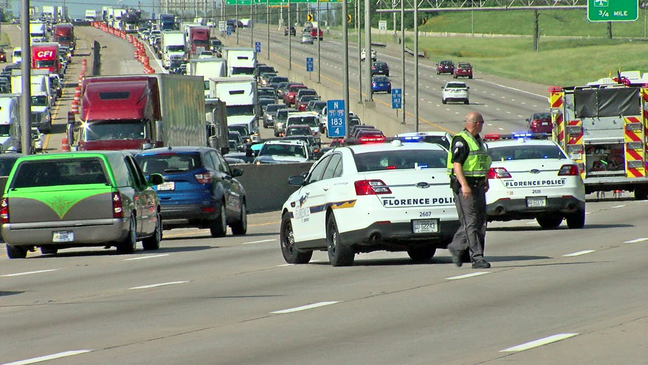 Crash on I-75 near Turfway seriously injures a child | WKRC