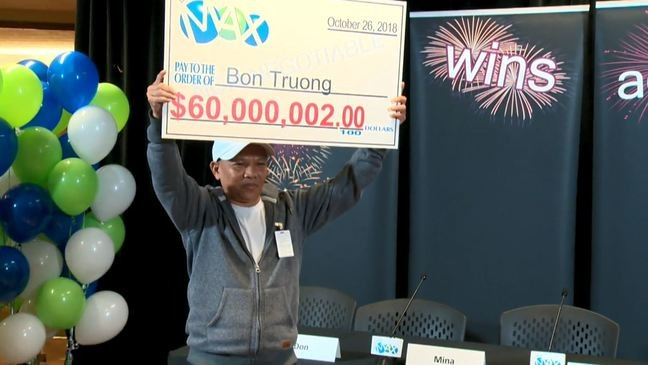 I could not believe it!': Man who played same lottery