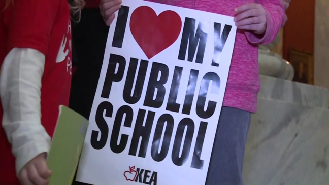 Several northern Kentucky schools closed Monday to oppose