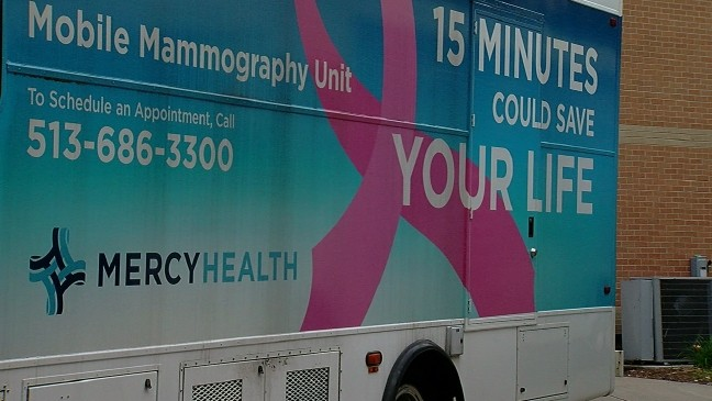 Mobile breast screening in cincinnati ohio
