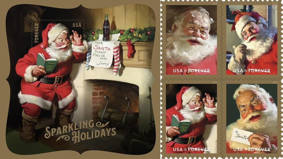 Usps Christmas Stamps.Usps Celebrates Sparkling Holidays With Classic Images Of