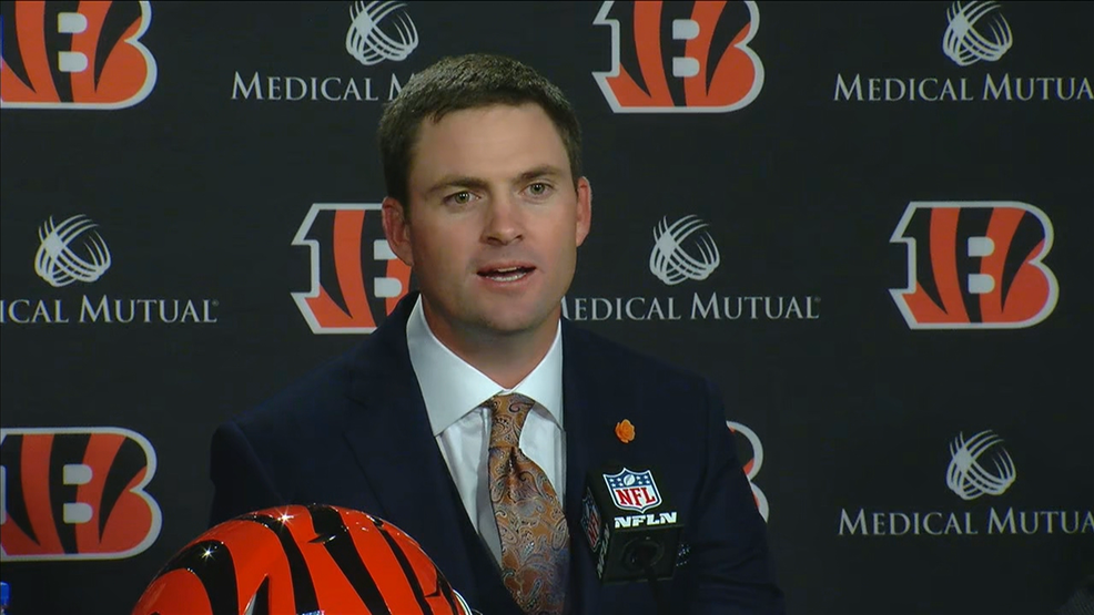 0570a010 Bengals name Zac Taylor as head coach | WKRC
