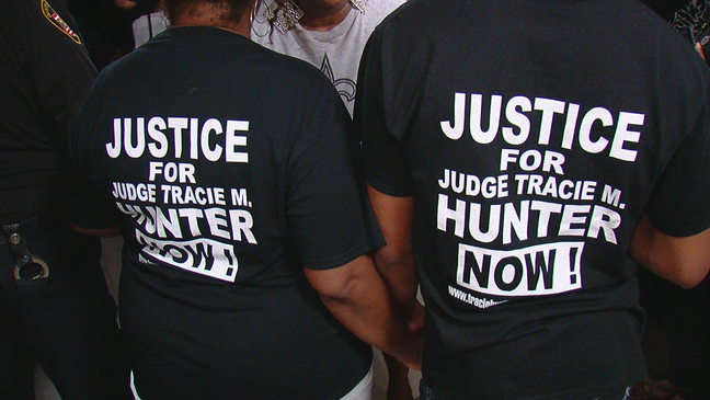 While Tracie Hunter supporters call for action, concerns of an