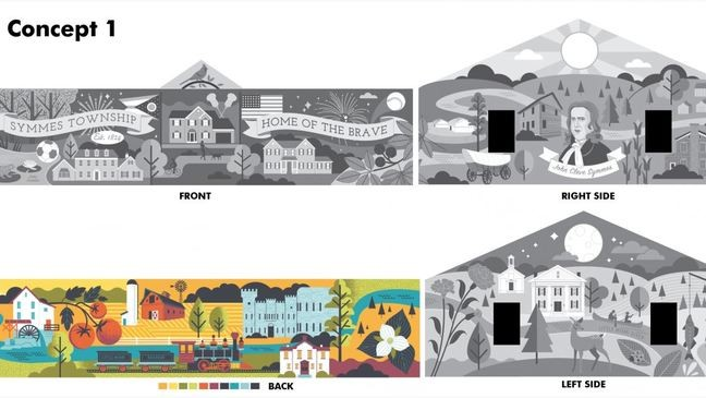 Artist Behind Downtown Fiona Mural To Paint One At Symmes Township