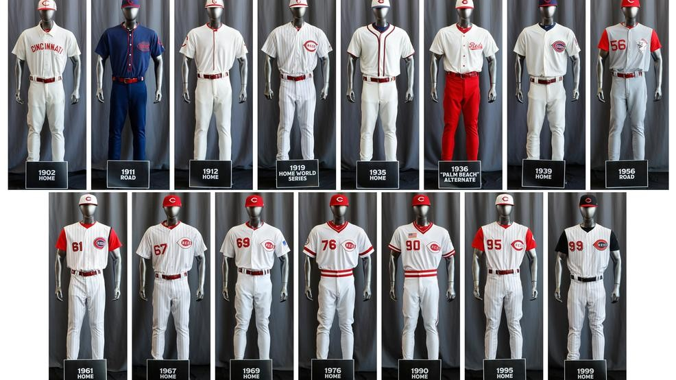 premium selection db523 765cb Reds wearing 1919 throwback uniforms for Sunday's game ...