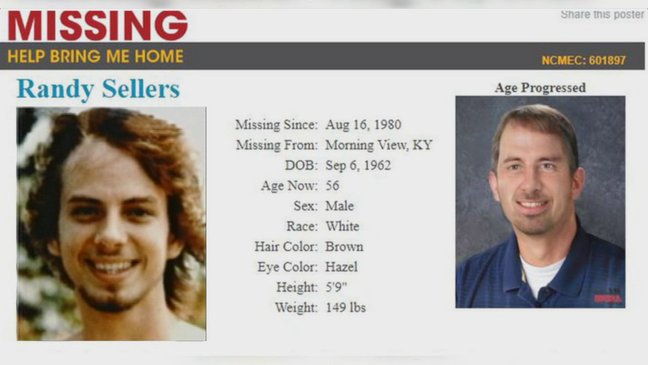 Investigators look at Kincaid Lake State Park for 1980 missing
