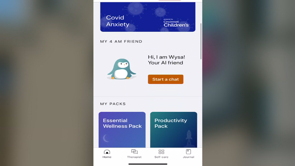 Local Doctors Develop App For Children Experiencing Anxiety Due To Pandemic Wkrc
